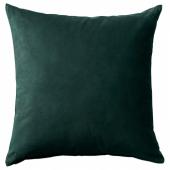 САНЕЛА Чехол на подушку,темно-зеленый
